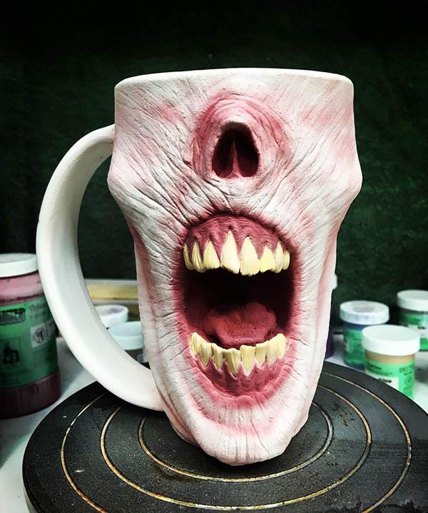Be Careful! Zombie Mug Attack!