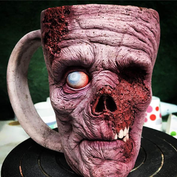 Be Careful! Zombie Mug Attack!