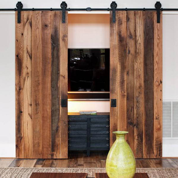 Loft House Design: Cleverly Use Interior Sliding Barn Doors In Your Home