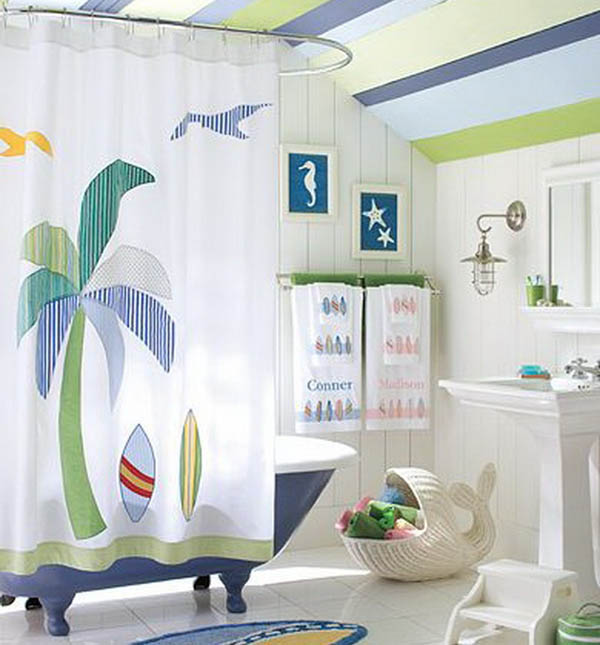 Create a Kids Friendly Bathroom