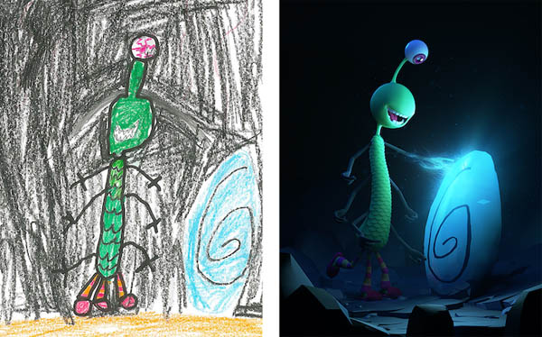 Monster Project: Artists Give New Life to Children's Monster