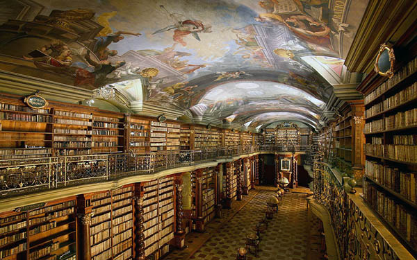 Klementinum library: Probably is the World's Most Beautiful Library