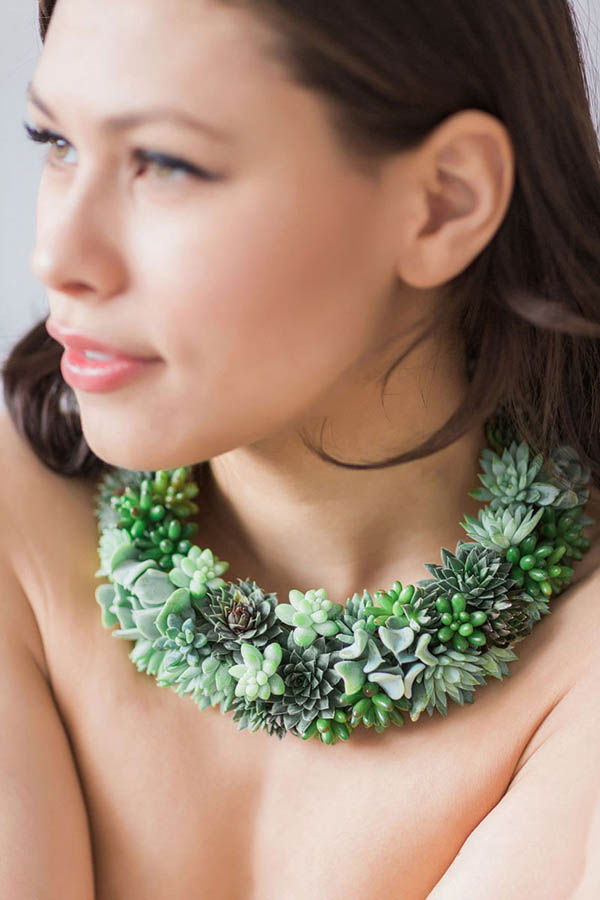 Live Succulent Jewels: Jewellery That Grows When Your Wear It