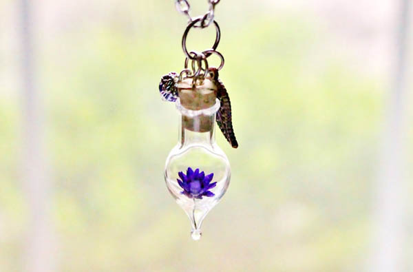 Nature Inspired Terrarium Necklaces