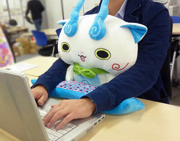 The Most Adorable Wrist Rest Cushion