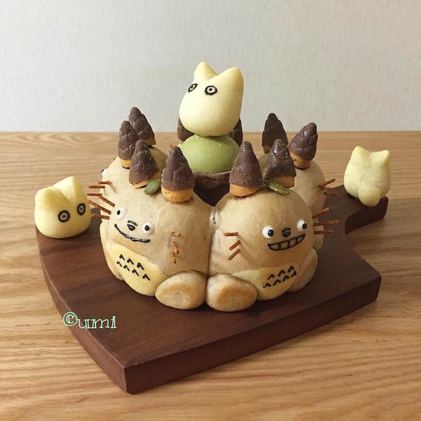 3D Cartoon Bread Loaves, Too Cute To Be Eaten
