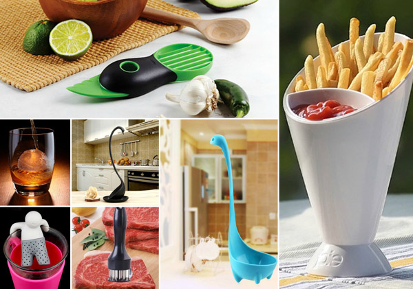 10 Cool And Clever Kitchen Gadgets Design Swan