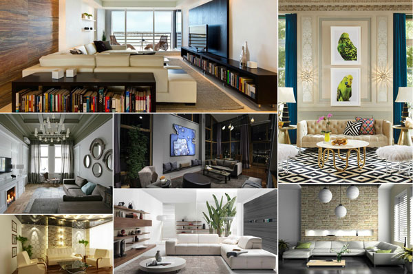 25 Contemporary Living Room Design Ideas