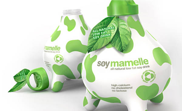30 Creative Milk Bottle Designs