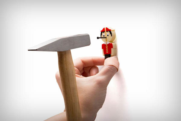 Nail It: a Creative Finger Saver