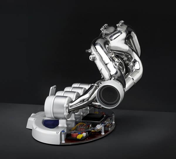 iXOOST: Exhaust Music Dock Inspired From Racing