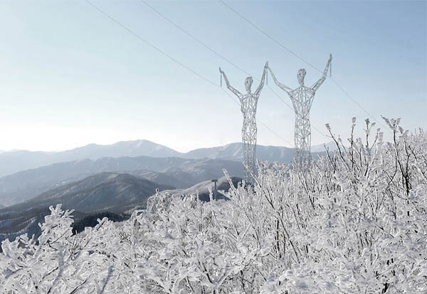 Most Awesome Electricity Pylons You Might Have Seen