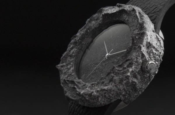 Lunar Watch: Wristwatches Crafted from Genuine Moon Rock