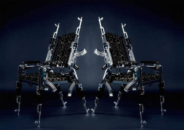 AK47 Chair: Most Unusual Chair You Might Have