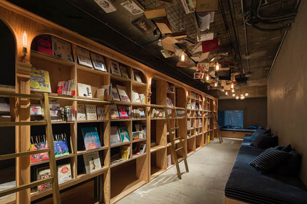 Book and Bed Hotel: Probably Most Attractive Hotel for Book Lover