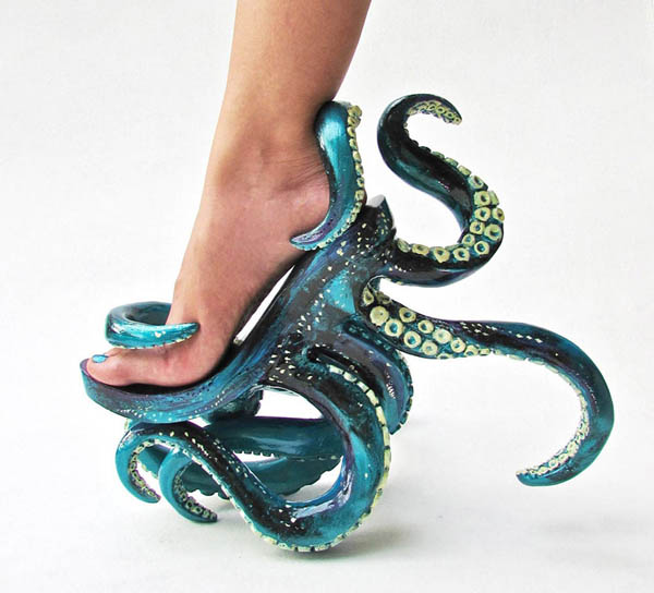Super Crazy Shoes by Kermit Tesoro