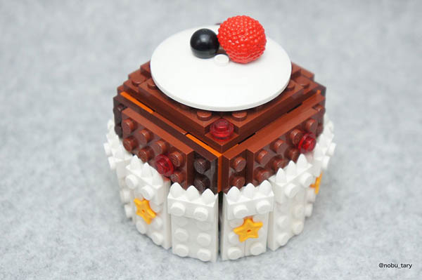 Delicious Lego Food Sculptures