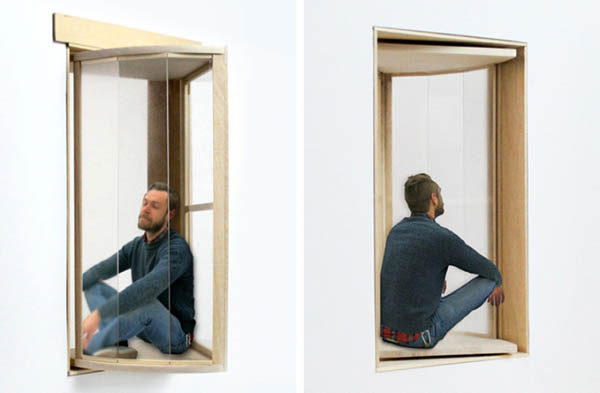 More Sky:Innovative Window System Concept Provide More Outdoor Time for Small Apartment