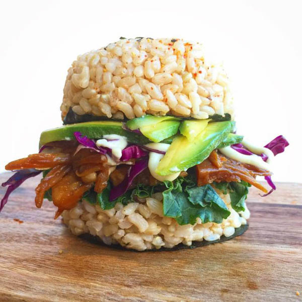 Mouthwatering Sushi Burger is the New Hottest Food Trend