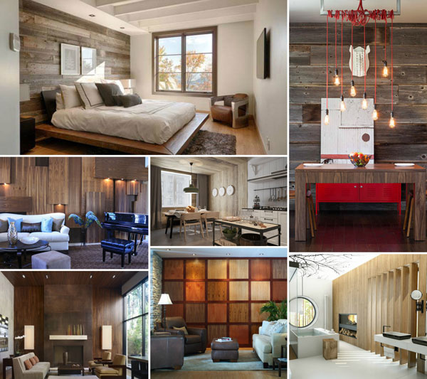 25 Modern Home Design With Wood Panel Wall Design Swan