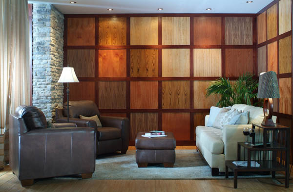 25 Modern Home Design with Wood Panel Wall