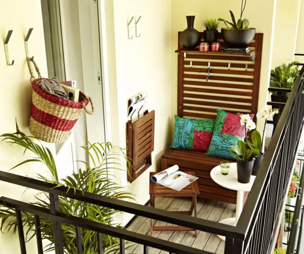 40 Inspiring Balcony Decoration Ideas