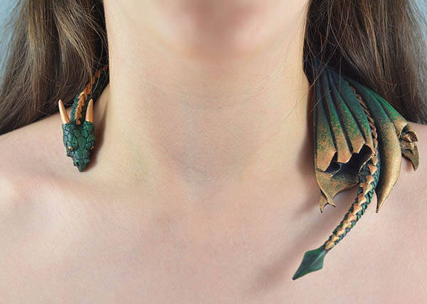 Game of Thrones Inspired Dragon Jewellery