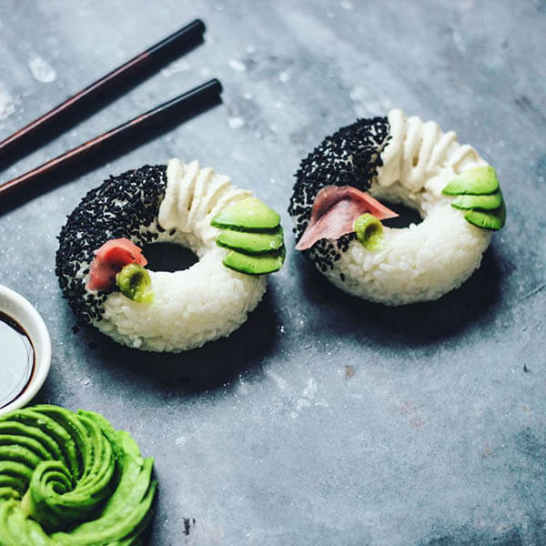 Mouthwatering Sushi Donut