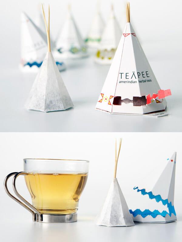 8 Creative Tea Bags Designs