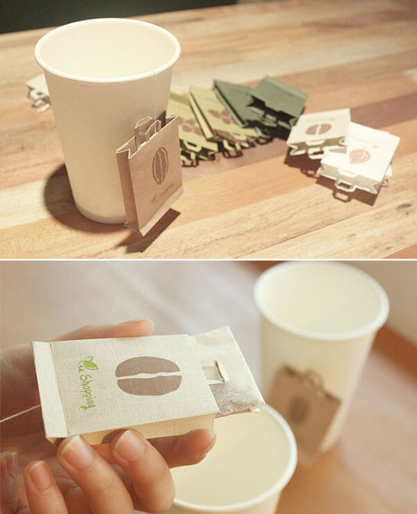 8 Creative Tea Bags Designs