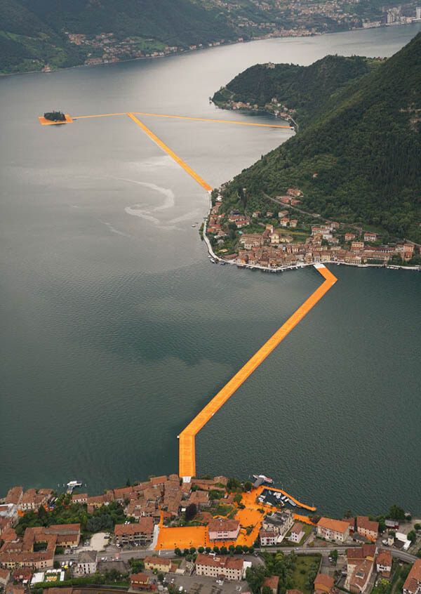 Walk on Water? 3km Floating Walkway in Northern Italy