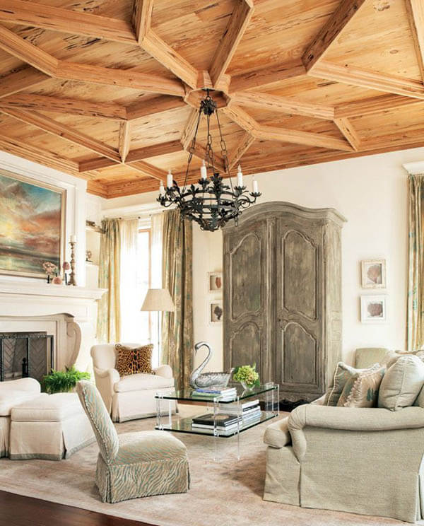 30 Creative and Unusual Ceiling Designs