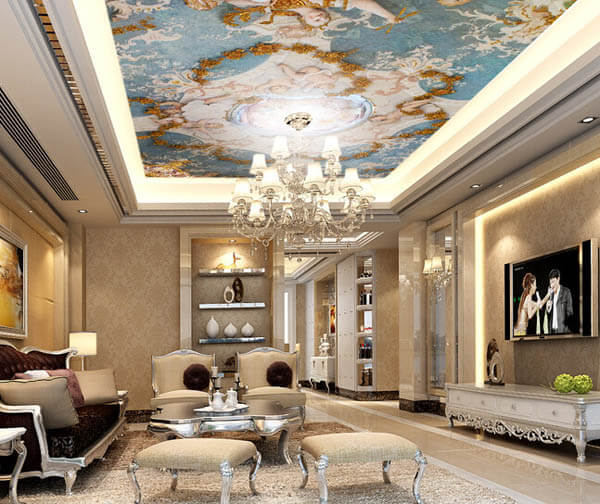 30 Creative Ceiling Decorating Ideas That Will Make Your: 30 Creative And Unusual Ceiling Designs
