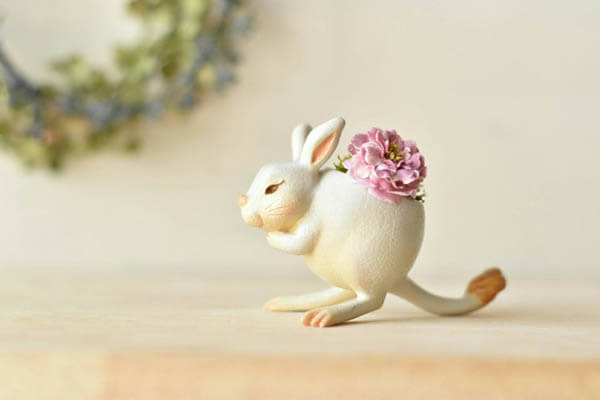 Adorable Animal Planters Bring Smile on Your Face