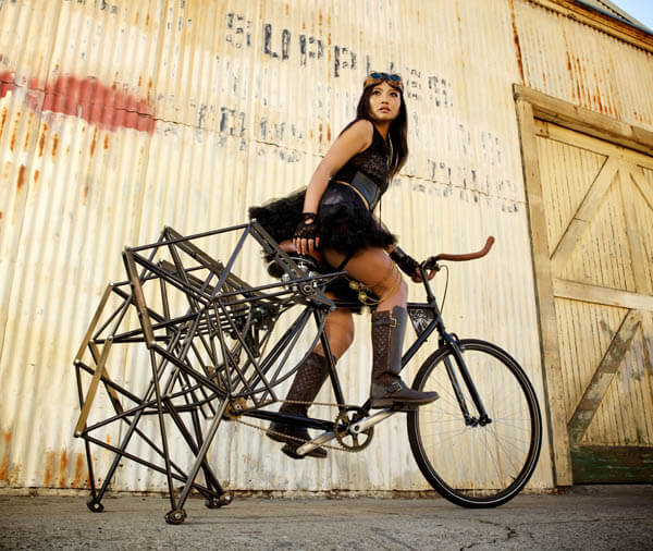 Walking Bike: The Bike With Spider Legs