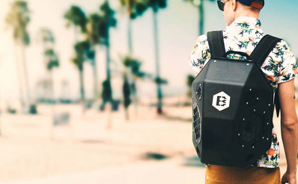 BeatBringer: a Boombox Backpack Allows you Party EVERYWHERE