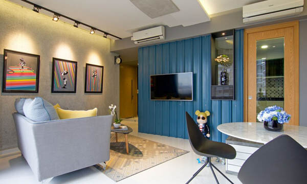 Playful Apartment in Singapore Inspired by Street Art