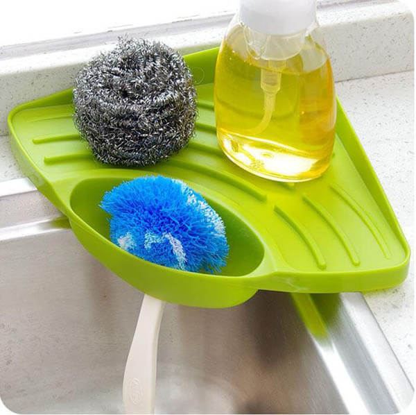 15 Kitchen Sponger Holder Ideas Keep Your Sponge Dry and Kitchen Organized