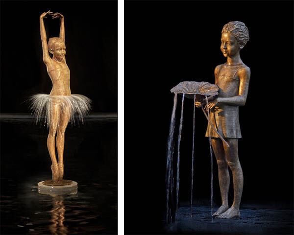 Creative and Poetic Fountain Sculptures