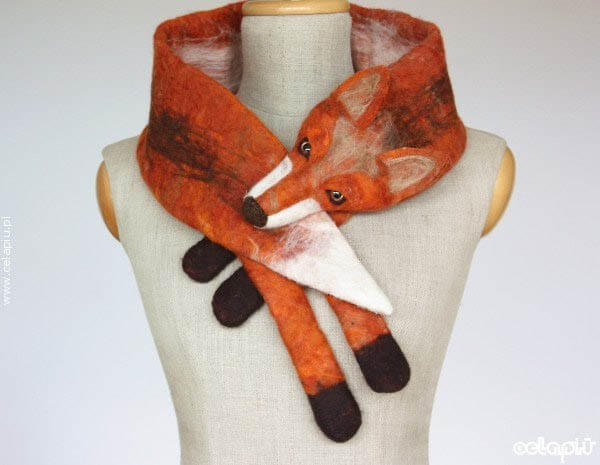 Playful Scarves Look Like You Have an Animal Wrapped Around Your Neck