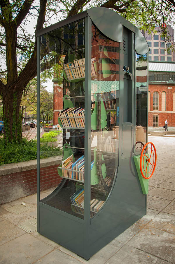 Creative Book Sharing Libraries in Indianapolis