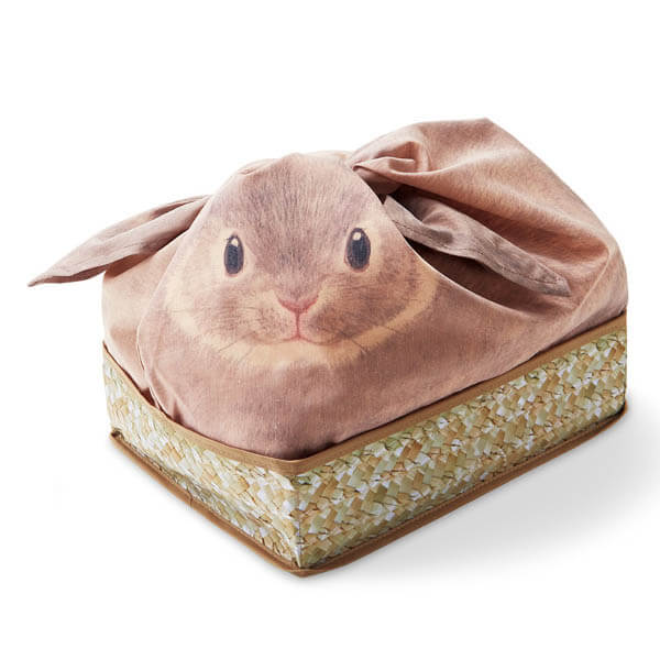 Cute Bunny Pouches Help to Tidy Your Space in an Adorable Way