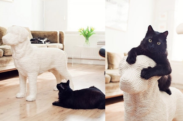 6 Unique and Playful Cat Scratching Posts