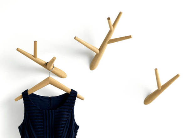 10 Cool and Unique Wall-mounted Coat Hangers and Hooks Design
