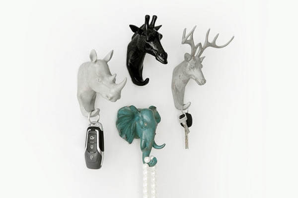 10 Cool And Unique Wall Mounted Coat Hangers And Hooks