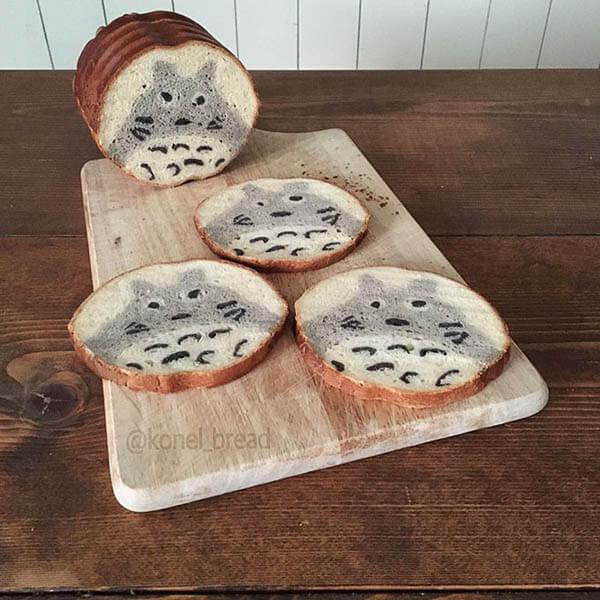 Creative Bread With Beautiful Pattern Hidden Inside