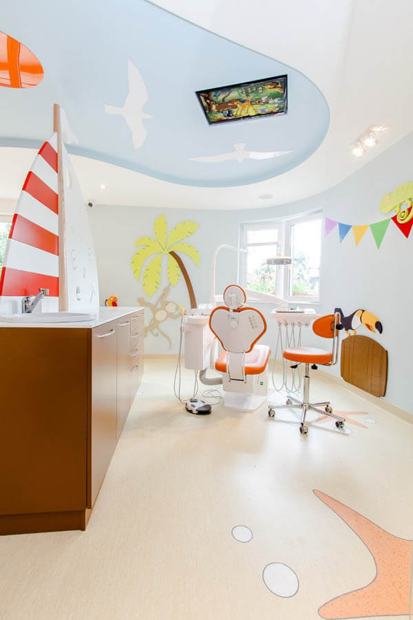 A Friendly and Cheerful Dental Office Will Never Scare the Little Ones