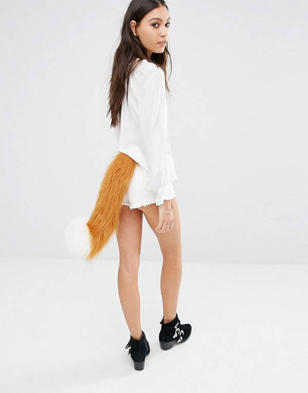 Wearing Animal Tails is Another Fashion Trend?