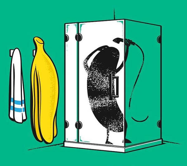 Hilarious Illustration about Daily Lives of Foods and Drinks