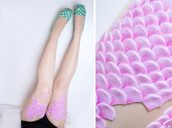 Beautiful and Elegant Mermaid Tights